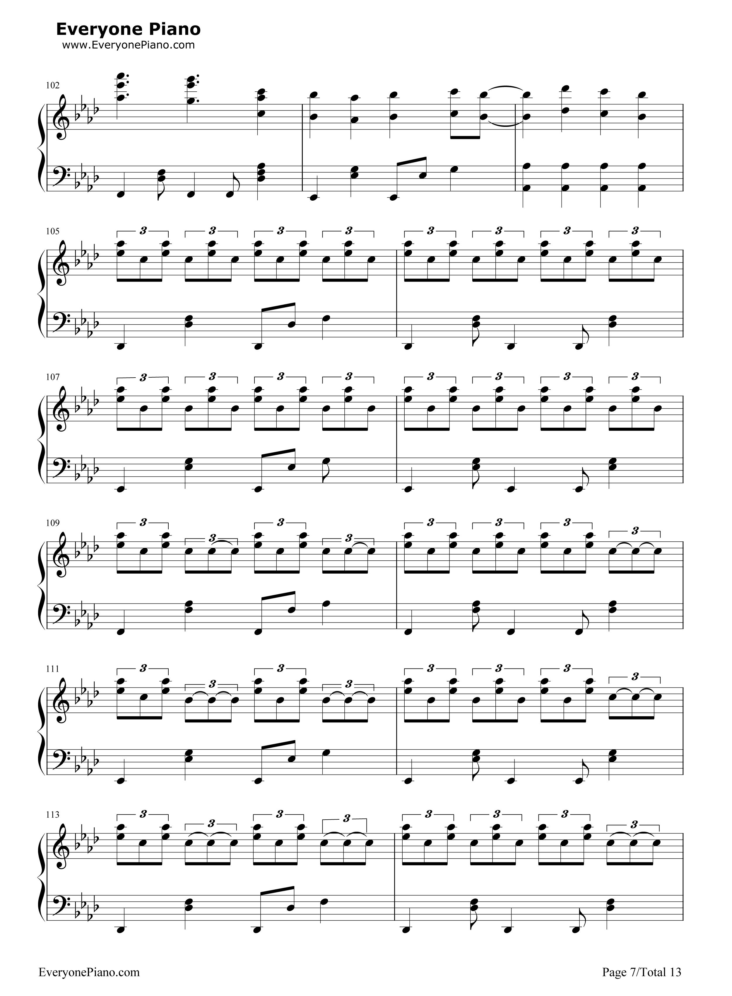 初音 ミク の 消失 楽譜