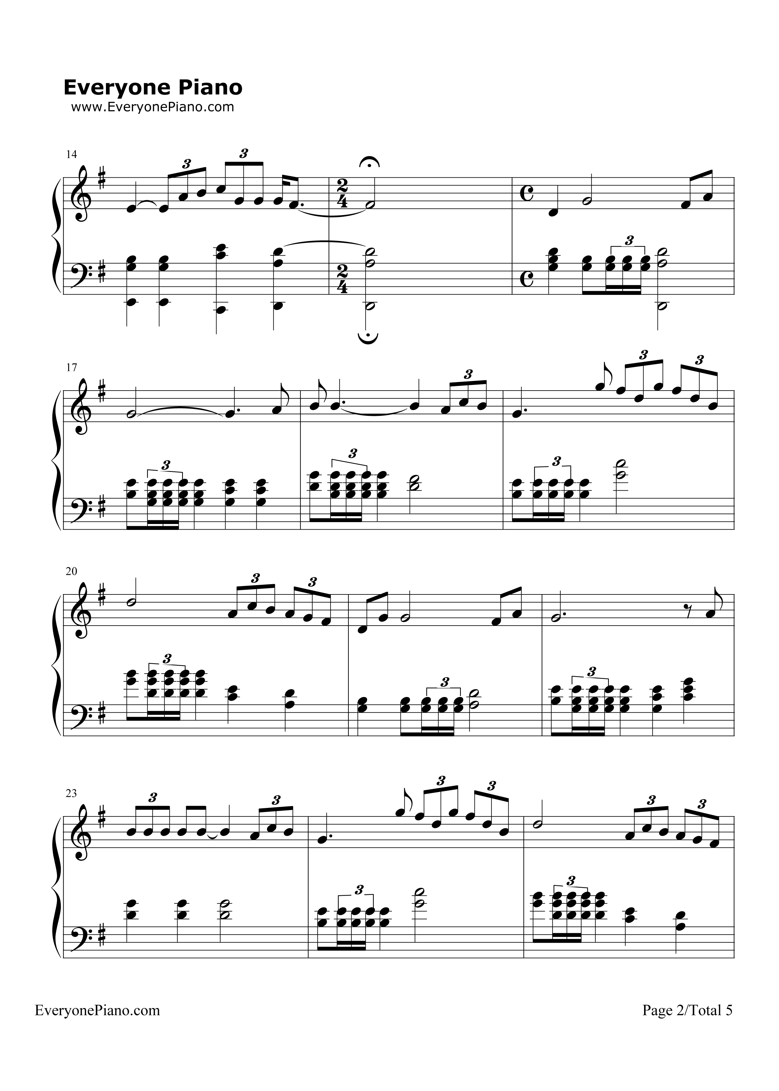 time to say goodbye duet sheet music pdf