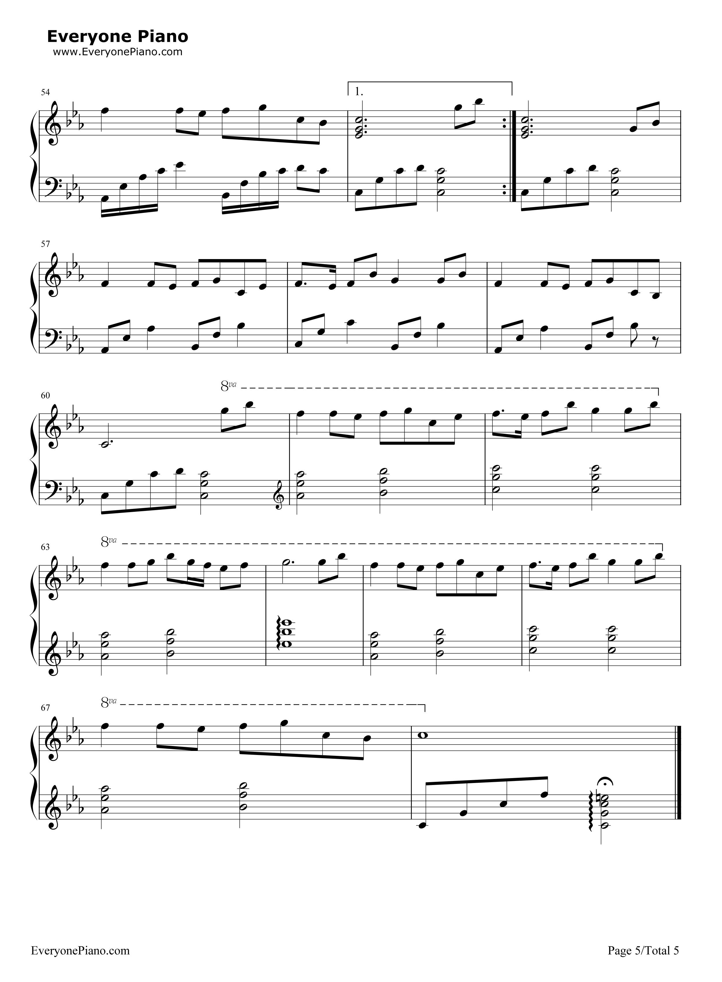 夢と葉桜-初音ミク五線譜プレビュー5 夢と葉桜-初音ミク五線譜プレビュー( 総数5枚 )  無料