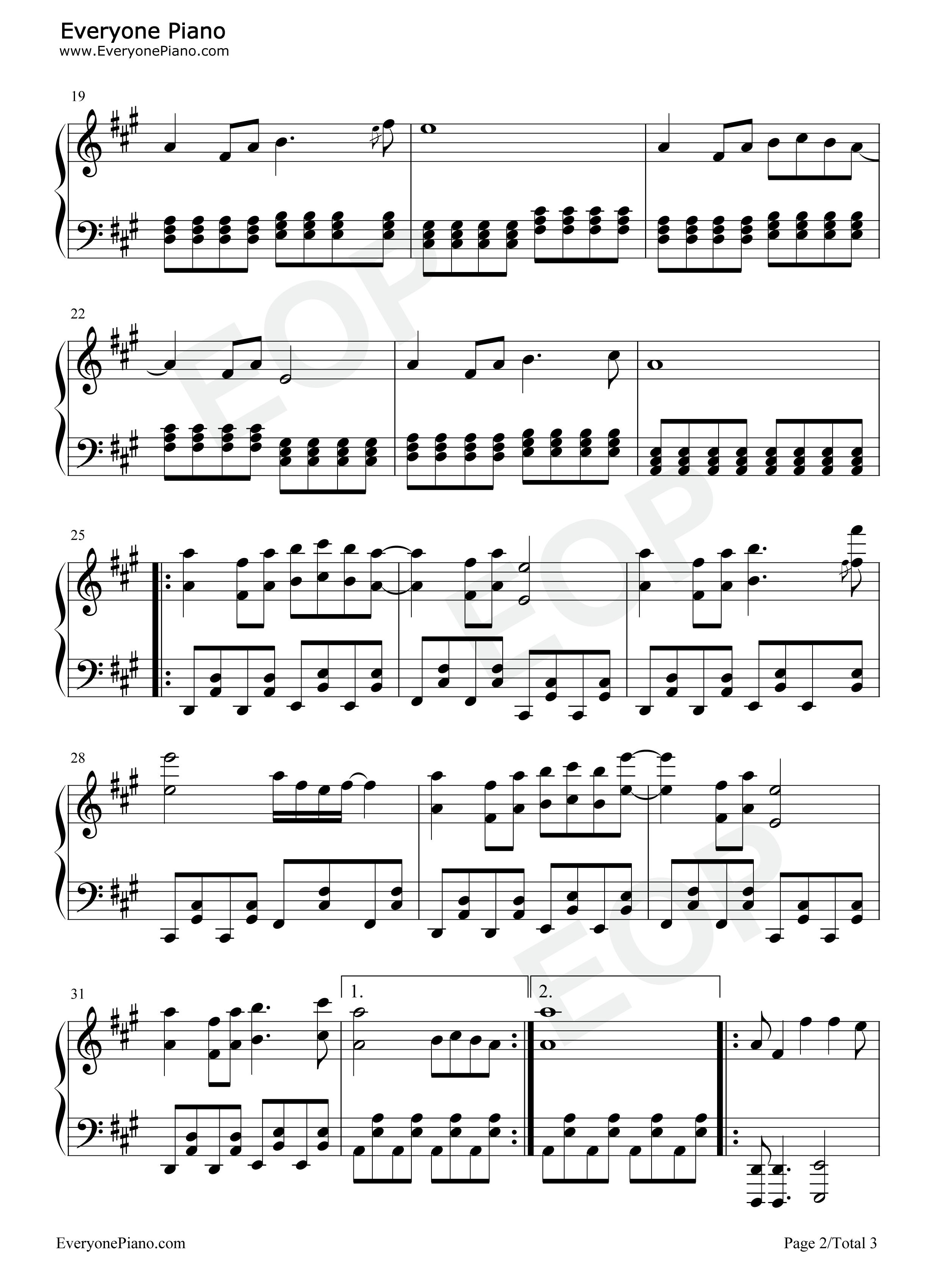 「いい日旅立ち」PC用演奏データ(midi)と楽譜(メ …