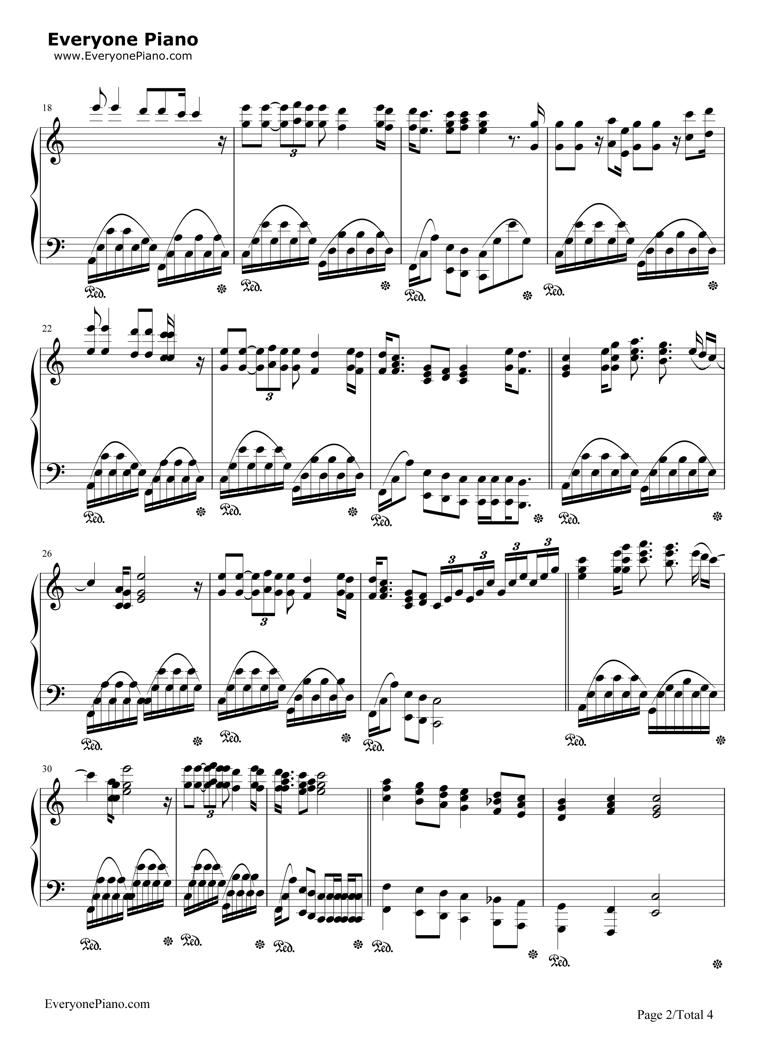 「Let It Be / SMAP」のピアノ・ソロ譜(初中級) |  …