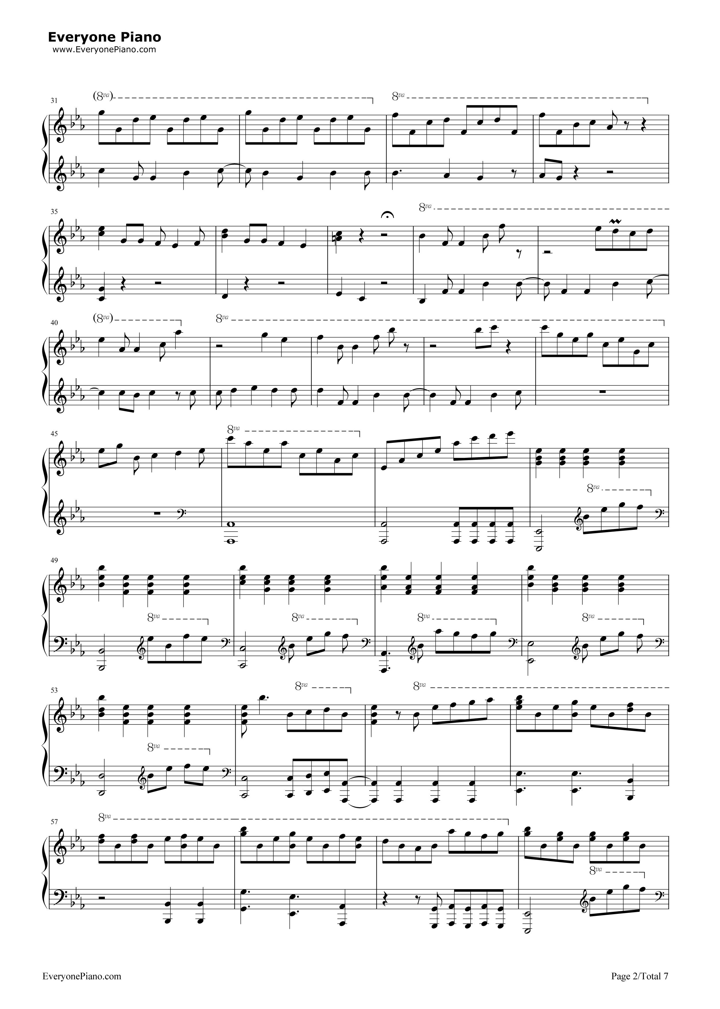 無料のピアノ楽譜ダウンロード