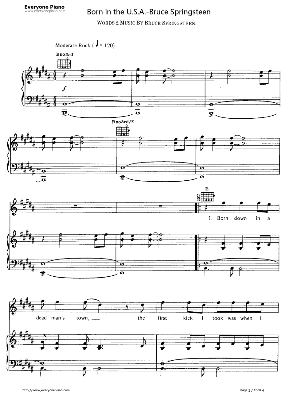 khe sanh piano sheet pdf