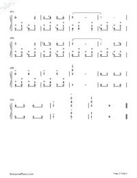 ドレミのうた-サウンドオブミュージックOST両手略譜プレビュー1