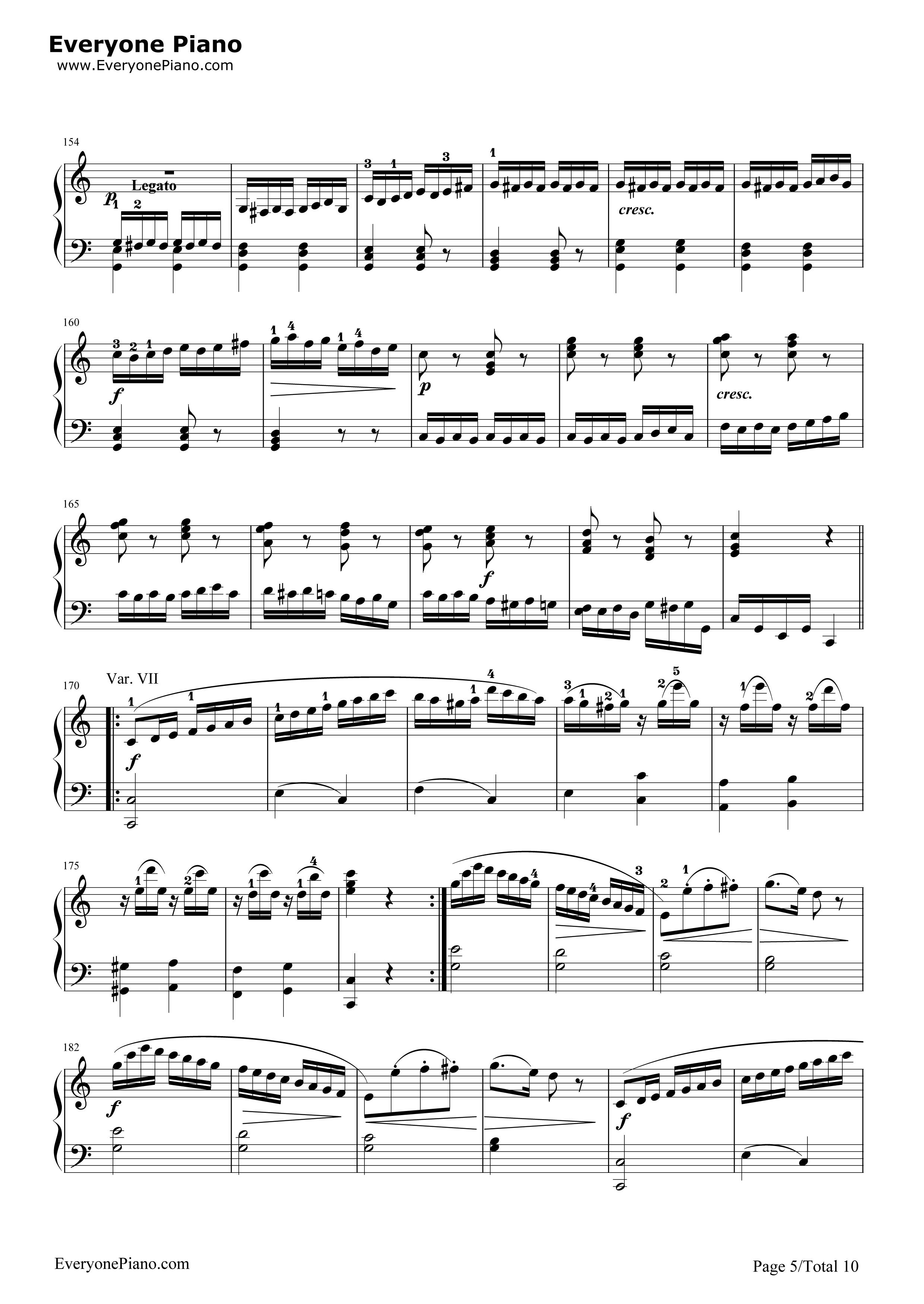 きらきら 星 変奏 曲 きらきら星変奏曲の難易度はピアノ演奏でどれくらいか
