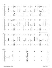 嵐 の 歌 ゼルダ 楽譜