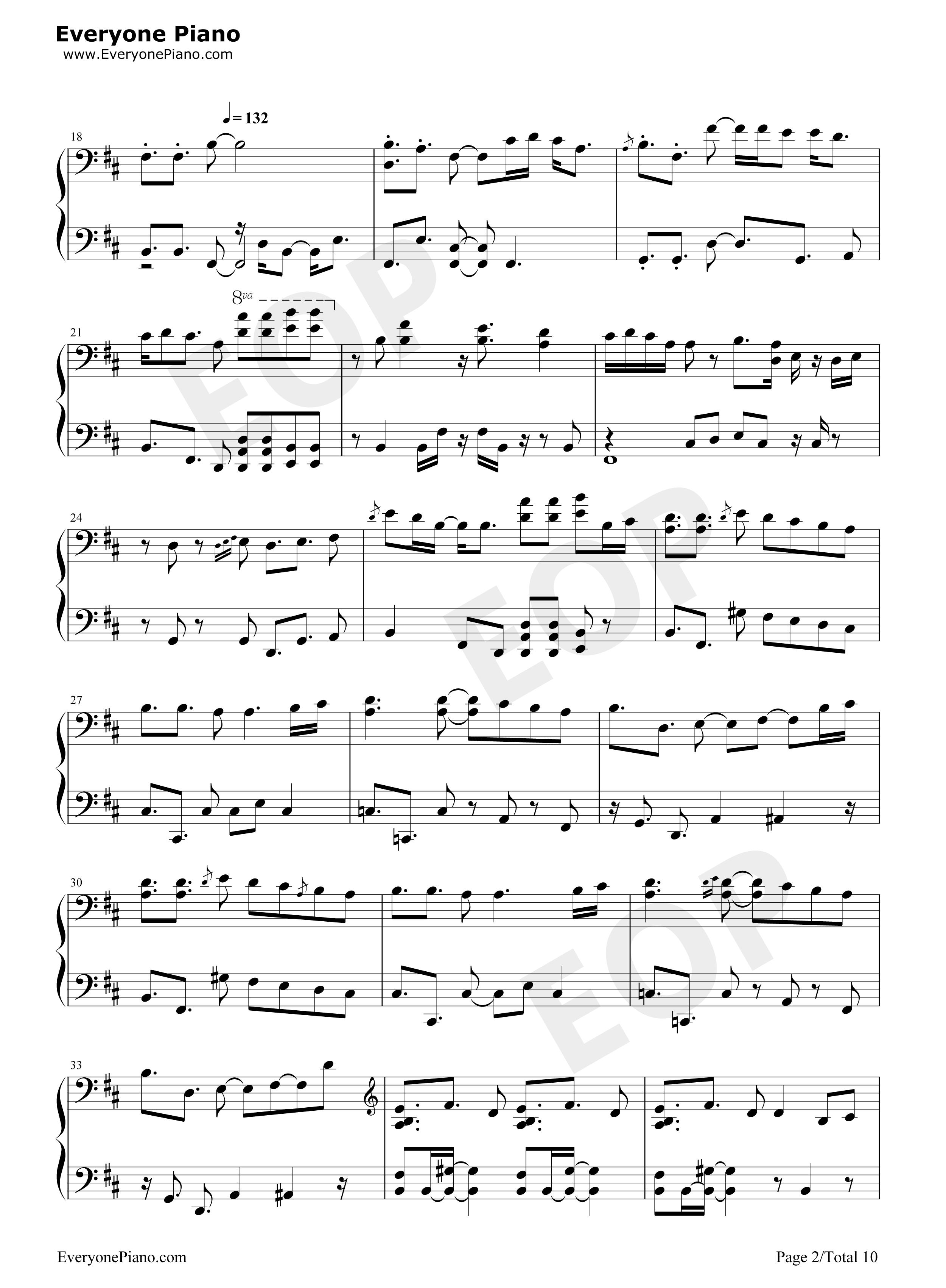 楽譜 ゲット ワイルド