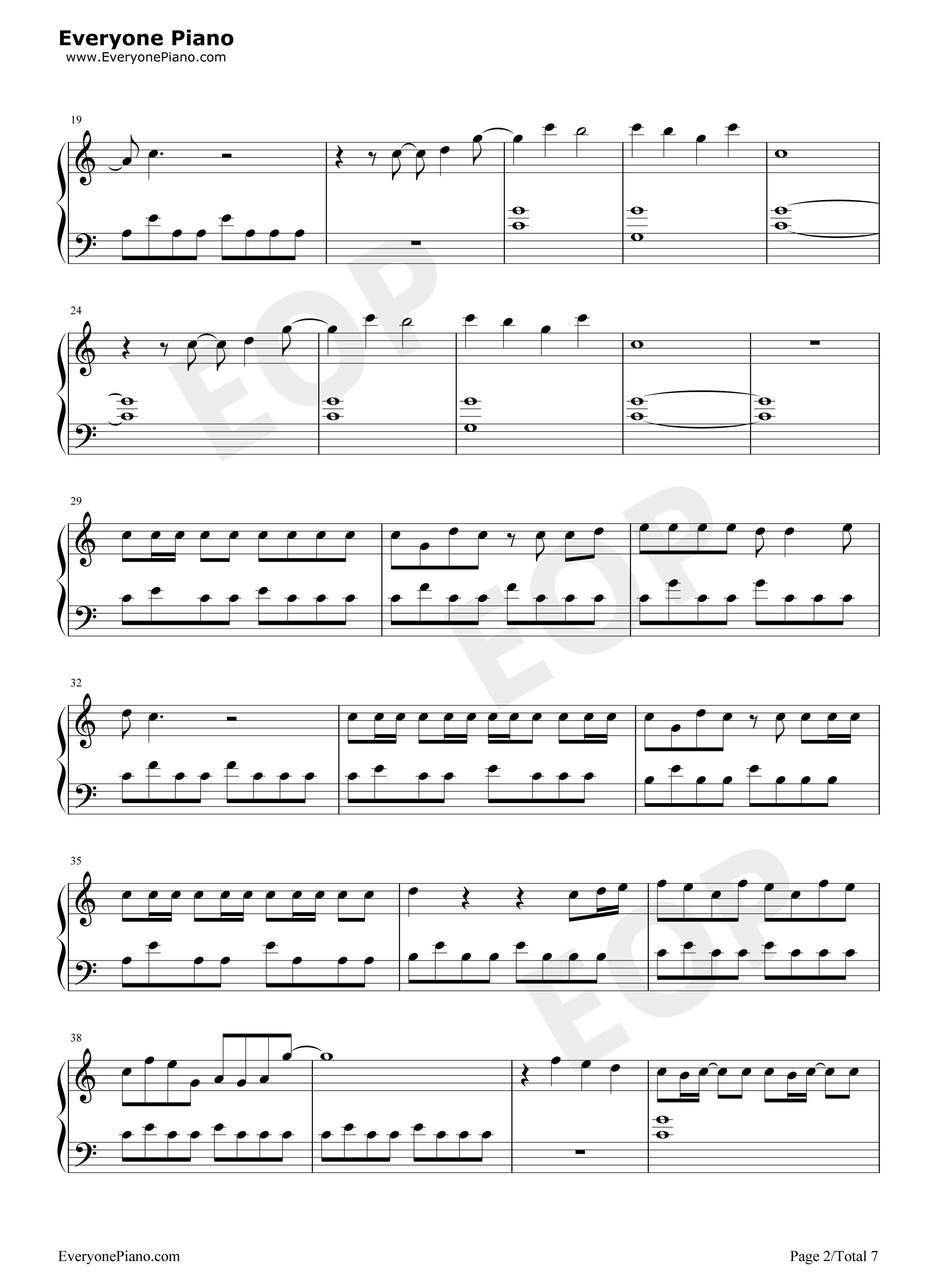 シンクロニシティ 楽譜