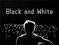 Black and White-Niall Horan