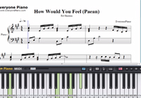 How Would You Feel (Paean)-Ed Sheeran楽譜ピアノ学習