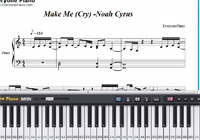 Make Me (Cry)-Noah Cyrus-Lorde楽譜ピアノ学習