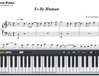 To Be Human-ワンダーウーマンOST楽譜ピアノ学習