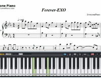 Forever-EXO楽譜ピアノ学習