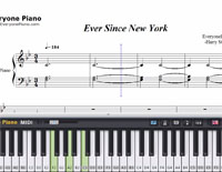 Ever Since New York-Harry Styles楽譜ピアノ学習