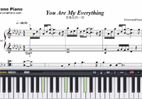 You Are My Everything-太陽の末裔OST楽譜ピアノ学習