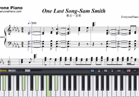 One Last Song-Sam Smith楽譜ピアノ学習