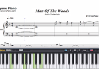 Man Of The Woods-Justin Timberlake楽譜ピアノ学習