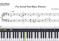 I've Loved You Since Forever-Kelly Clarkson楽譜ピアノ学習