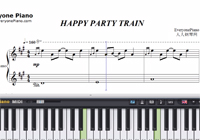 HAPPY PARTY TRAIN-Love Live Sunshine楽譜ピアノ学習