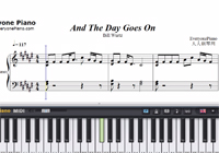And the Day Goes On-Bill Wurtz楽譜ピアノ学習