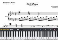 White Palace-Hollow KnightBGM-楽譜ピアノ学習